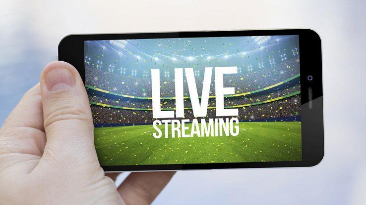 vedere calcio in streaming su smartphone