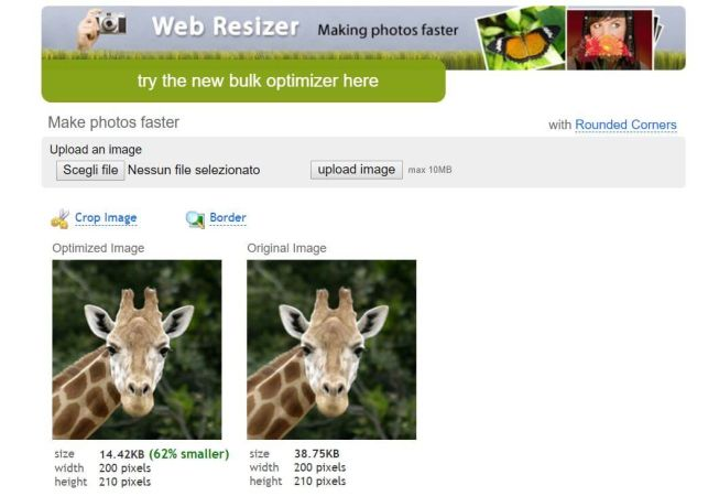 Webresizer Homepage