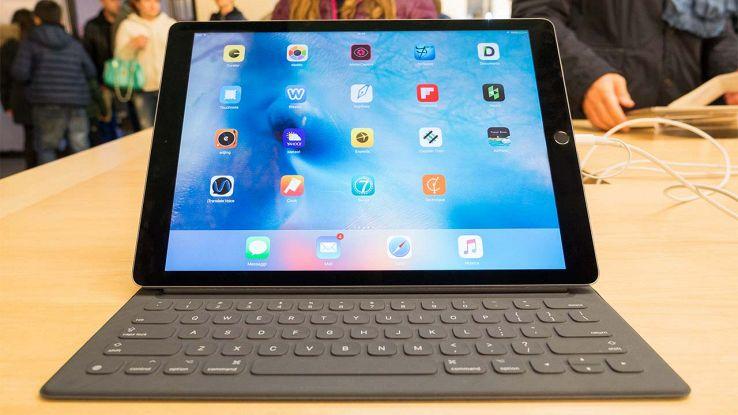 iPad Pro con tastiera