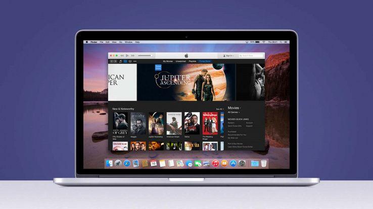 iTunes su Mac
