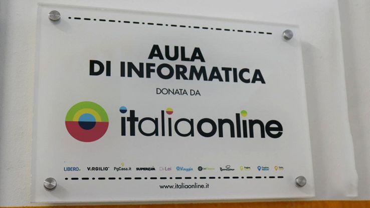 targa aula informatica italiaonline