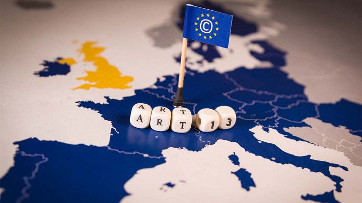 ARticolo 13 copyright europa