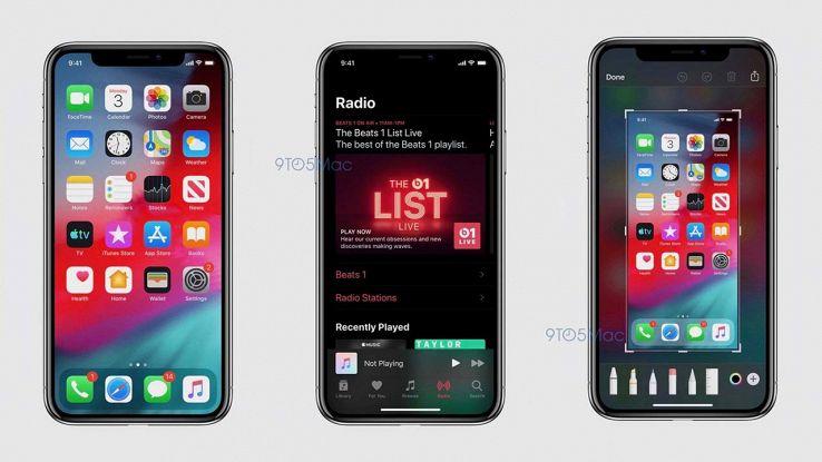 Screenshot iOS 13