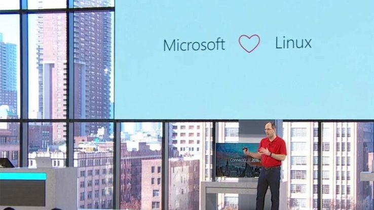Linux e Microsoft