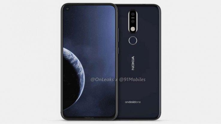 Rendering Nokia 6.2