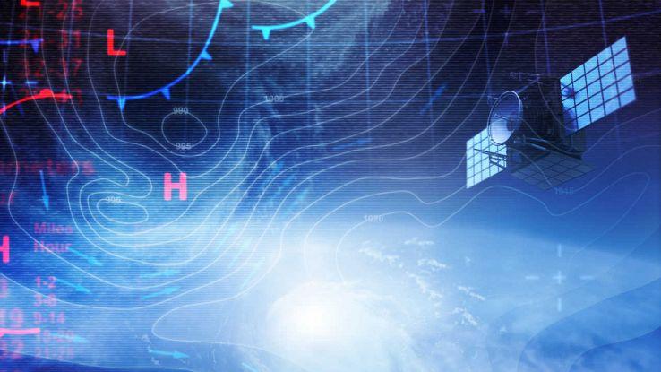Previsioni meteo con satellite