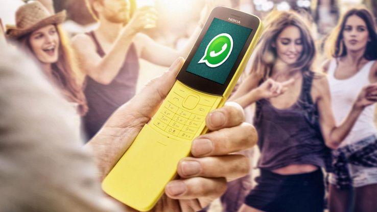whatsapp sul nokia 8110