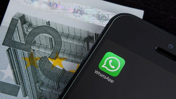 whatsapp soldi