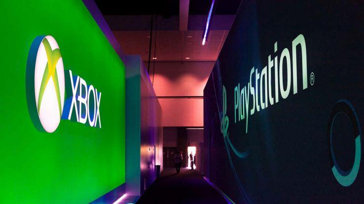 Logo di Xbox e PlayStation