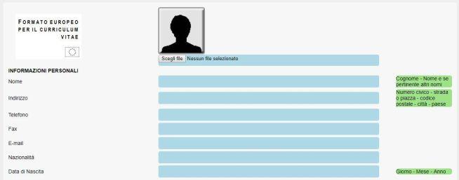 screenshot da creacurriculum.org
