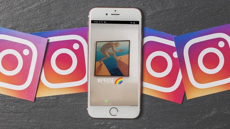 instagram arcobaleno