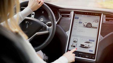 Display della Tesla