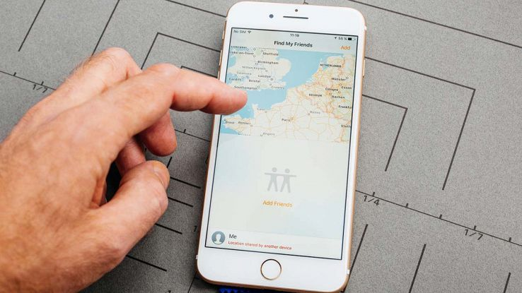 Trova i miei amici iPhone