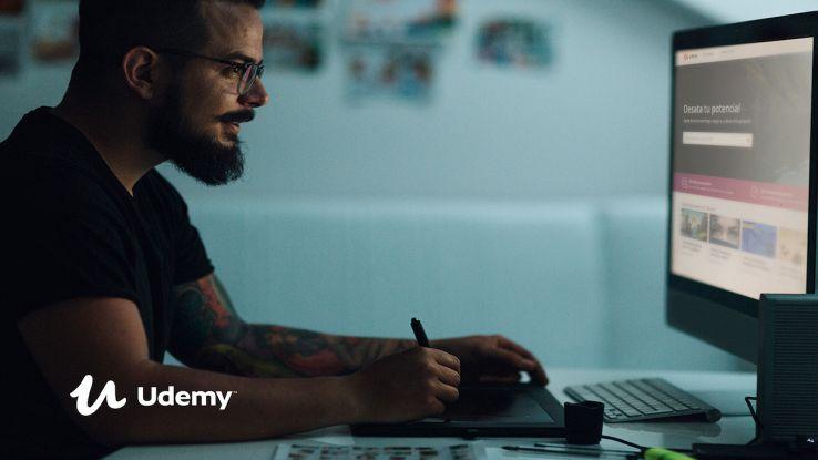 Imparare a usare Photoshop: il corso essenziale su Udemy a