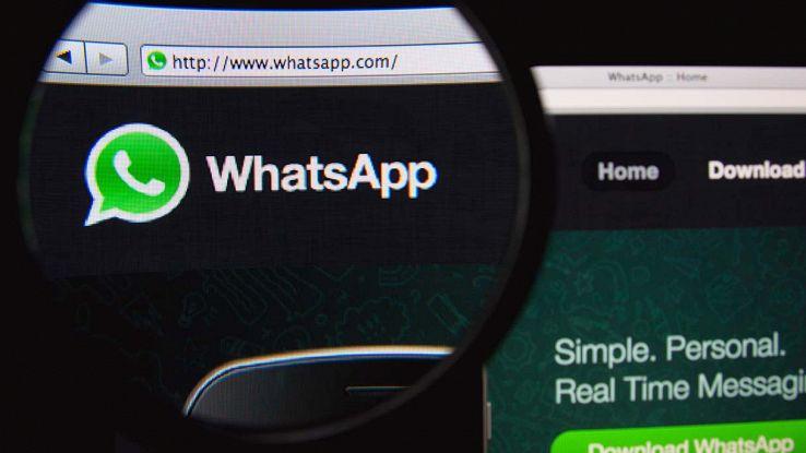 Sito web di whatsapp
