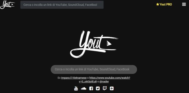 Yout homepage