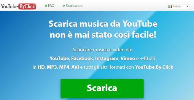 scaricare video da youtube in formato mp3