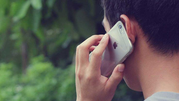 Telefonata con iPhone