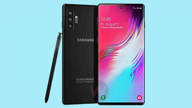 Galaxy Note 10, caratteristiche, prezzo e data di uscita