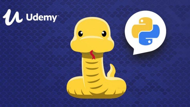 Come imparare a programmare in Python: corso Udemy con sconto del 90%