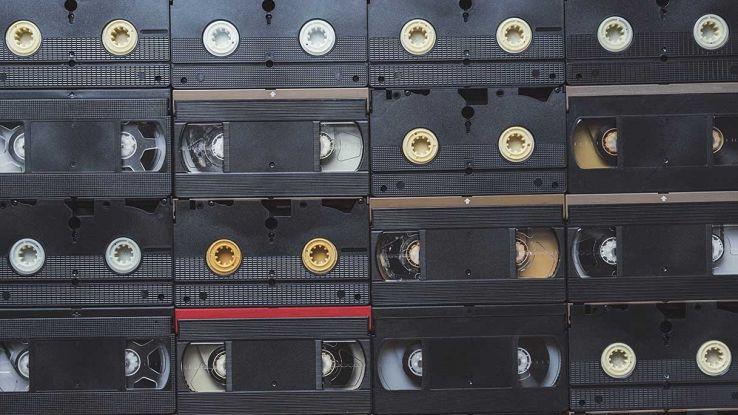 Fila di VHS