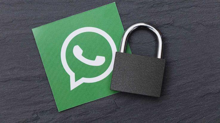 Lucchetto WhatsApp