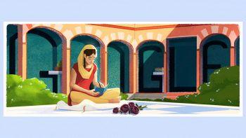 Il doodle di Amrita Pritam