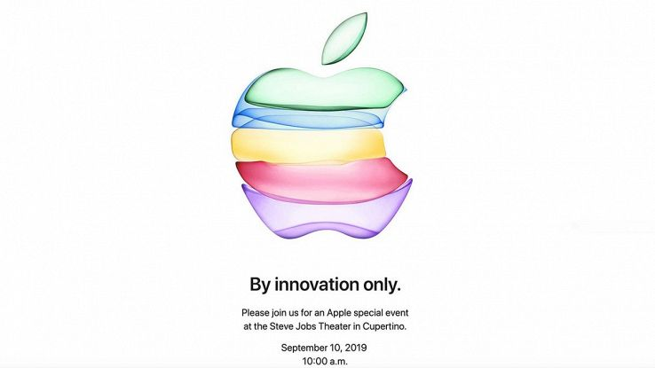 invito apple evento 10 settembre