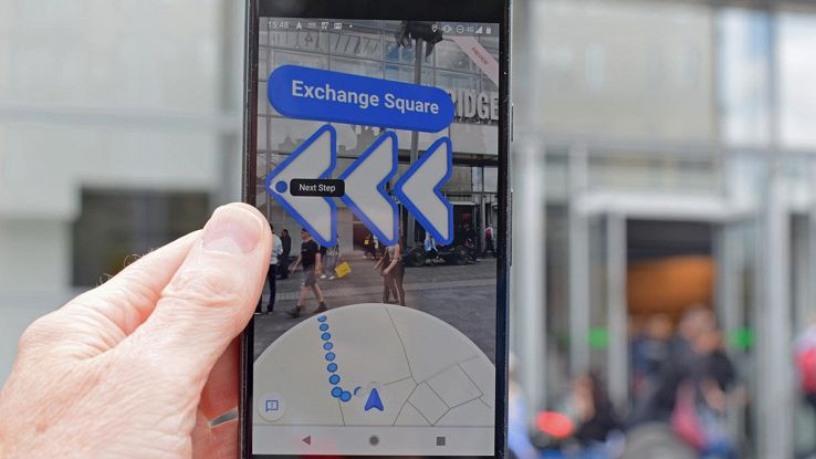 google maps realtà aumentata