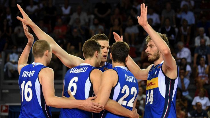 italia volley mascshile