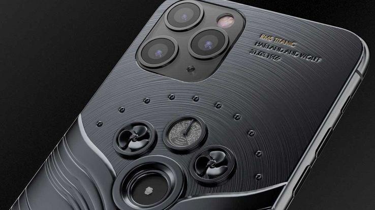 IPhone Pro 11, la versione con pezzi del Titanic costa come un'auto