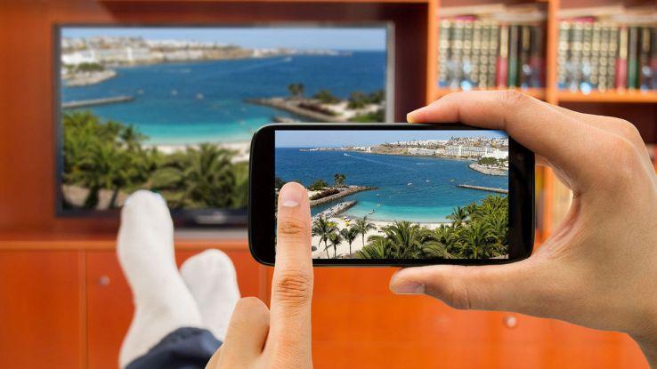 Mirroring tra smartphone e tv