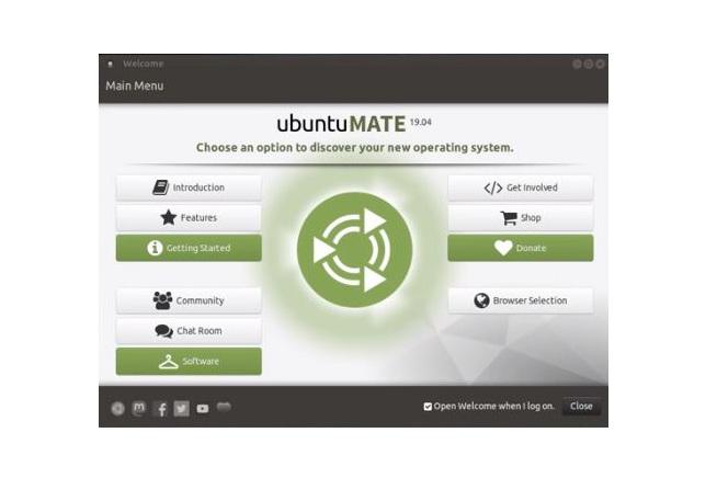 Schermata Ubuntu MATE
