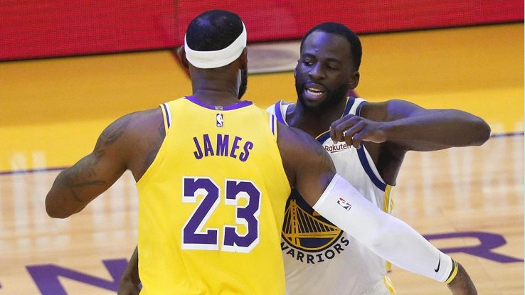 lebron james e draymond green