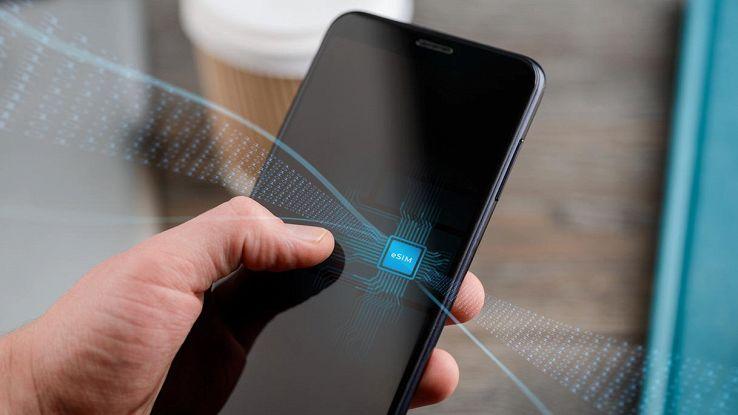 smartphone con esim