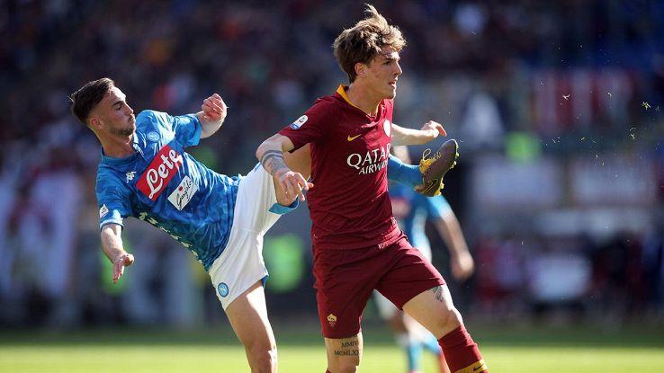 calcio roma napoli