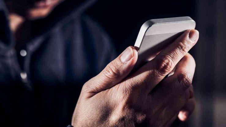 smartphone intercettato