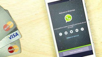 whatsapp carta di credito