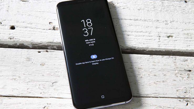 Blocco schermo smartphone