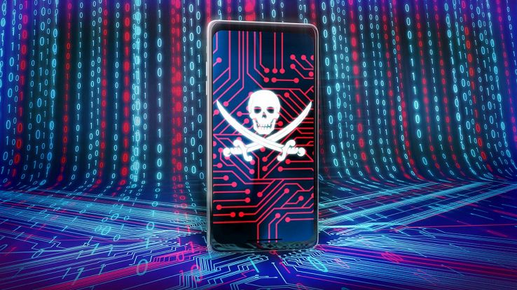 smartphone android con virus