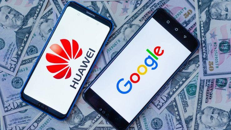 smartphone huawei e google