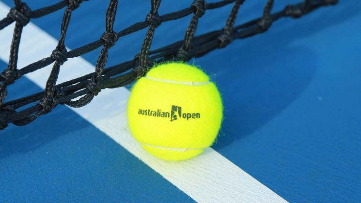 pallina da tennis australian open