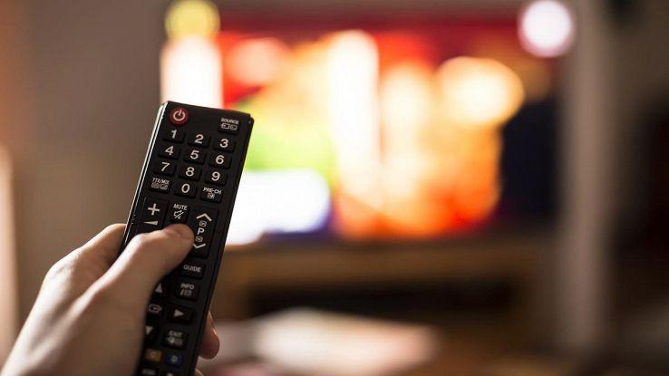 telecomando televisore