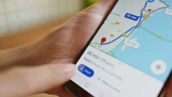 Google Maps su smartphone Android
