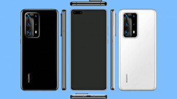 Immagini dello Huawei P40 Pro