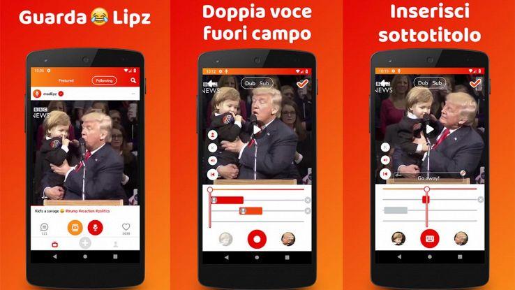madlipz app per doppiaggio