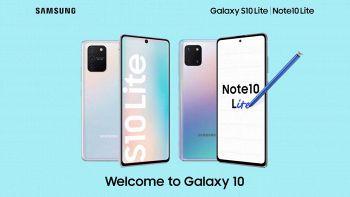 galaxy note 10 e galaxy s10 lite