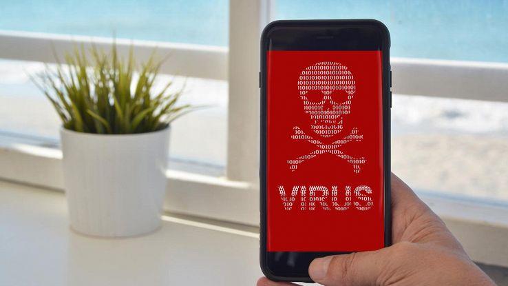 virus smartphone