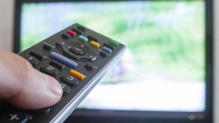 telecomando canale tv