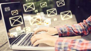 Invio email da laptop